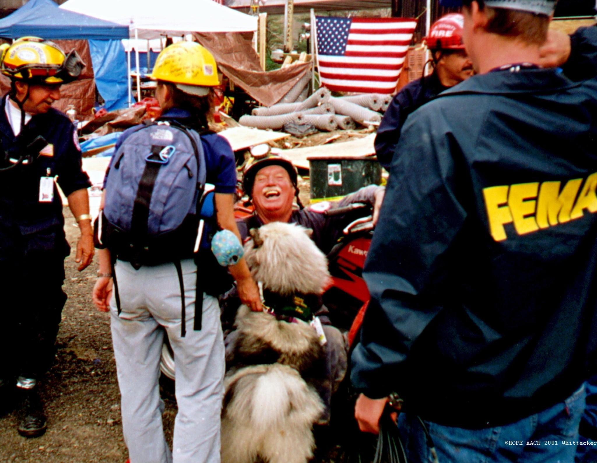 Ground Zero, NYC (2001)